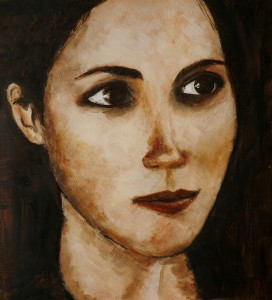 Marieke Kamperman - Portrait in browns