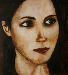 Marieke Kamperman - Portrait in browns